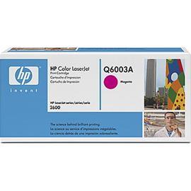 HP Q6003A - punainen, mustekasetti