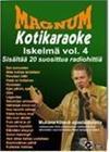 Magnum Iskelmä Kotikaraoke vol. 4, karaoke-dvd