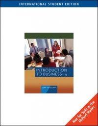 Introduction to Business, International Edition :, kirja