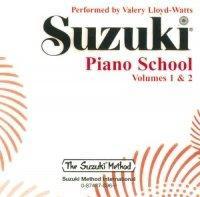 Suzuki Piano School Piano CD 1+2 (Shinichi Suzuki), äänikirja