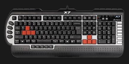 A4tech X7 G800, näppäimistö