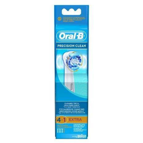 Braun Oral-B Precision Clean, vaihtoharjat 4 + 1 kpl