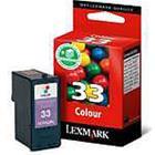 Lexmark 018CX033E, mustekasetti