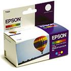 Epson T020401 - 3-väri, mustekasetti