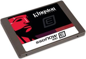 Kingston SSDNow E100 (100 GB, SATA 6Gb/s) SE100S37/100G, SSD-kovalevy