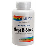 Solaray Mega B-Stress, 60 kaps.