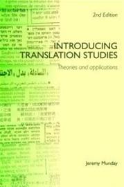 Introducing Translation Studies - Theories and Applications (Jeremy Munday), kirja