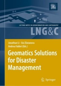 Geomatics Solutions for Disaster Management, kirja