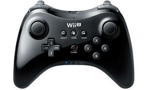 Nintendo Wii U Pro Controller, peliohjain