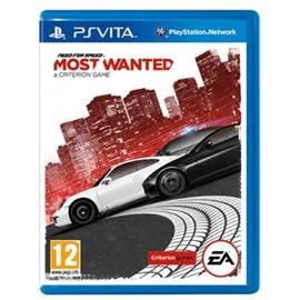 Need for Speed - Most Wanted 2012, PS Vita -peli