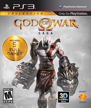 God Of War Saga (sis. 5 -peliä), PS3 -peli