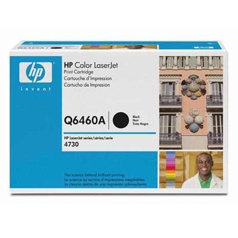 HP Q6460A - musta, mustekasetti