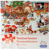 Tonttuorkesteri, joulupalapeli 500 palaa