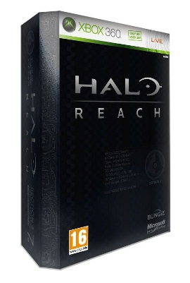 Halo: Reach Limited Edition, Xbox 360 -peli
