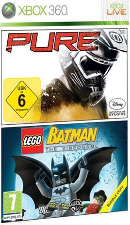 Pure ja LEGO Batman: The Videogame, Xbox 360 -peli