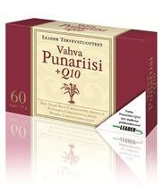 Leader Vahva punariisi+Q10 60 tablettia