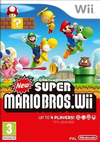 New Super Mario Bros., Nintendo Wii -peli