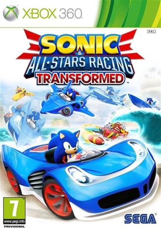 Sonic & All-stars Racing: Transformed, Xbox 360 -peli