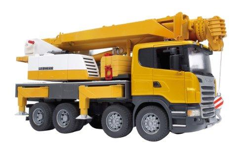 Bruder 3570 Scania Liebherr Nosturiauto Hinta 80