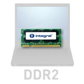 2 GB, 667 MHz SO-DIMM DDR2, keskusmuisti