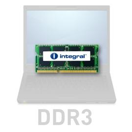 8 GB, 1333 MHz SO-DIMM DDR3, keskusmuisti