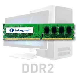 2 GB, 800 MHz DDR2, keskusmuisti