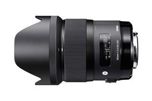 Sigma 35mm F1.4 DG Art HSM, objektiivi