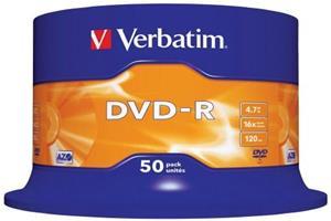 DVD-R-aihio (4,7 Gt), 50 kpl