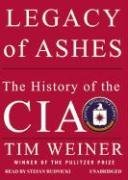 Legacy of Ashes: The History of the CIA (Tim Weiner), kirja