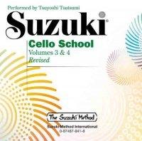 Suzuki Cello School CD 3+4, äänikirja