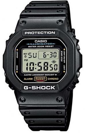 Casio G-Shock DW-5600E-1V, rannekello