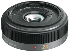 Panasonic Lumix G 20mm f/1.7, objektiivi