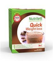 Nutrilett Quick Weight Loss Shake, 15 annospussia
