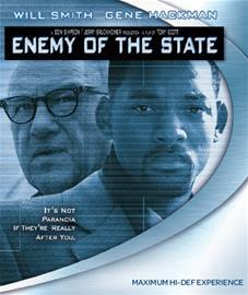 Valtion vihollinen (Enemy Of The State, blu-ray), elokuva