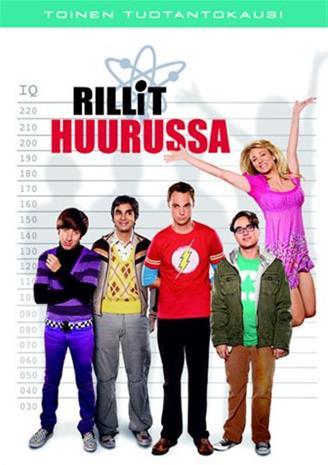 Rillit huurussa (The Big Bang Theory), kausi 2, TV-sarja