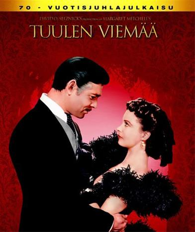 Tuulen viemää (Gone With The Wind, Blu-ray), elokuva