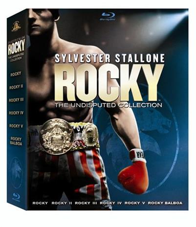 Rocky - Complete Saga (Blu-ray), elokuva