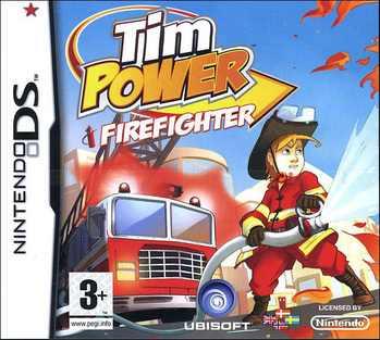 Tim Power - Firefighter, Nintendo DS -peli