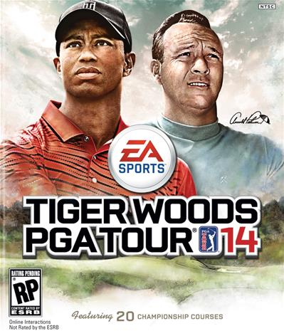 Tiger Woods PGA Tour 14, Xbox 360 -peli