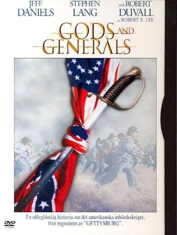 Jumalan miekka (Gods And Generals), elokuva