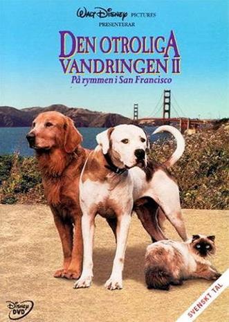 Kotia kohti II - Seikkailu San Franciscossa (Homeward Bound II: Lost in San Francisco), elokuva