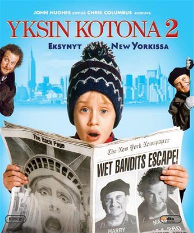 Yksin kotona 2 (Blu-ray), elokuva