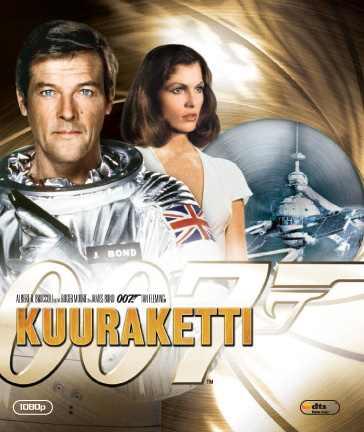 James Bond 007: Kuuraketti (Moonraker, Blu-ray), elokuva