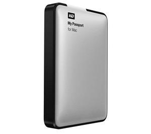Western Digital My Passport for Mac (1 TB, USB 3.0) WDBGCH0010BSL, ulkoinen kovalevy