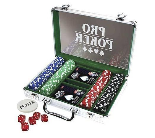Pro Poker, pokerisalkku, 200 merkkiä