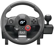 Logitech Driving Force GT -ratti + polkimet (PC, PS2 & PS3)