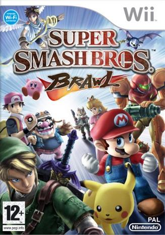 Super Smash Bros. Brawl, Nintendo Wii -peli