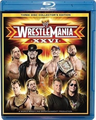 WWE Wrestlemania 26 (Blu-ray), elokuva