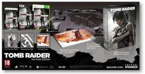 Tomb Raider (2013) Survival Edition, Xbox 360 -peli