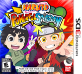 Naruto Powerful Shippuden, Nintendo 3DS -peli